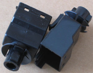 Plastic Interruptor/Injection Parts/Electronic Plastic Part/Plastic Products pictures & photos