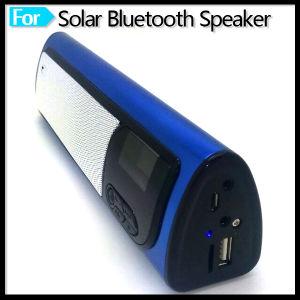 Portable Mini Bluetooth Speaker with Alarm Clock FM Radio Solar Powered pictures & photos