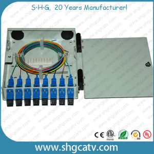 4-8 Sc Adapters Metal FTTH Fiber Optical Terminal Box (FTB-M4-4SC) pictures & photos