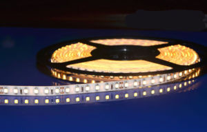 New 2014 36 Watt Flexible SMD 2835 LED Strip IP65 Waterproof Roll LED Strip Yellow for Parking Lot pictures & photos