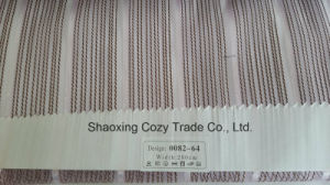 New Popular Project Stripe Organza Voile Sheer Curtain Fabric 008264 pictures & photos