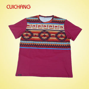 Wholesale High Quality Custom Men T-Shirt Printing pictures & photos