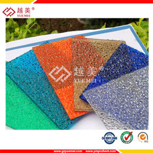 SGS Proved Polycarbonate Roofing Sheet Embossed Panel pictures & photos