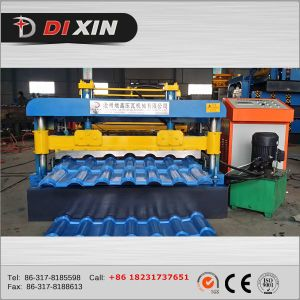 Dx Hot Sale Roof Panel Rolling Forming Machine pictures & photos