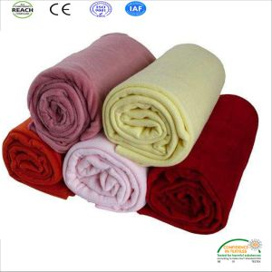 Anti-Pilling Polar Fleece Blanket for Promotion pictures & photos