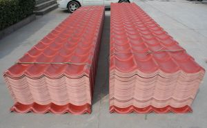 Color Stable Resin Material Roof Tile for Villa pictures & photos