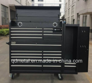 Hot Sale Power Coating with CD Speaker Utility Vehicle/ Tool Cabinet Cart pictures & photos