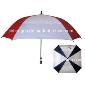 Durable Auto Open Straight Golf Umbrella (YSGO0006) pictures & photos