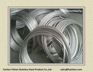 Stainless Steel Pipe for Air Radiator pictures & photos