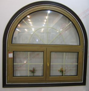 High-Class Aluminum Arched Casement Window (BHA-CWA25) pictures & photos