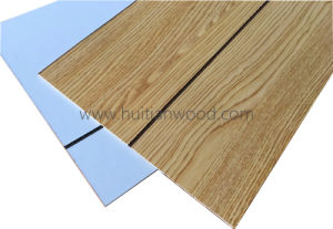 High Quality Grooved Paper Ceiling Plywood for Decoration pictures & photos