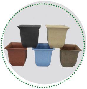 Biodegradable Flower Pot