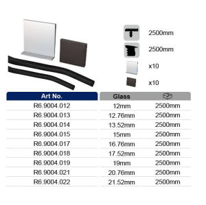 Aluminum U Channel Glass System for Glass Balustrade pictures & photos