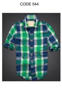 Plaid Shirt (544) pictures & photos