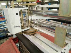 55-2-65-1-1600 Three Layer Co-Extruding Upper Traction Rotation Plastic Blown Film Blowing Machine pictures & photos