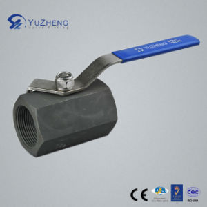 1PC Hex Carbon Steel Ball Valve with BSPP Thread pictures & photos