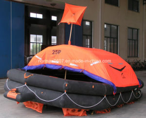 Throwing Inflatable Life Raft for 25 Person (Type A)