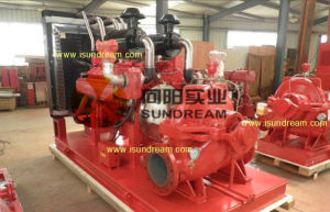 Diesel Engine Horizontal Split Case Pump for Urban Water Supply pictures & photos