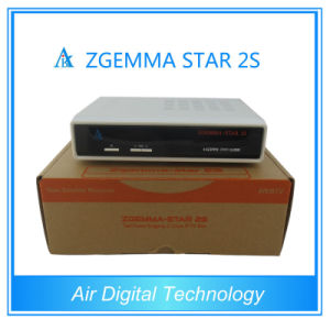 Zgemma-Star Satellite Receiver Software Download HD Receiver Zgemma-Star 2s HD Combo DVB S2 Satellite Receiver pictures & photos
