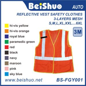 Promotional Logo Printed High Visibility Safety Reflective Vest pictures & photos