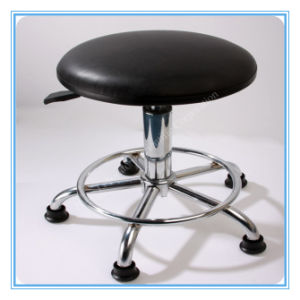 ESD Chair PU Leather Computer Lab Stool Selling pictures & photos