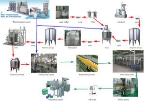 Bottle Juice Filling Line Equipment (RCGGF)