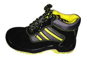 Suede Leather Safety Shoes pictures & photos