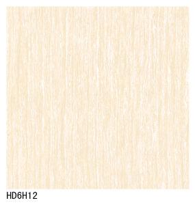 (HD6H12) 600X600 800X800 Pink Color Line Stone Design Polish Porcelain Floor Tile pictures & photos