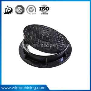 Ductile Iron/Sand Heavy Duty Manhole Covers with Grating and Lock pictures & photos