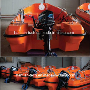 4.25m Length Fiberglass Salil Boat for Lifesaving with Ec Approved pictures & photos