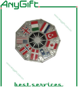 Zinc Alloy Die Casting 3D Medal with Antique Brass Plating (LAG-Medal-06) pictures & photos