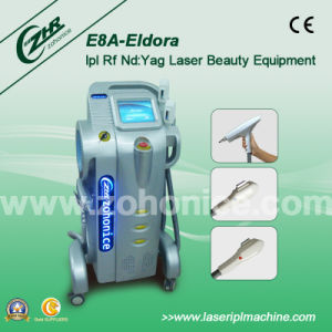 E8a 6 in 1 Multifuntion Laser IPL RF Elight Hair Removal Machine pictures & photos