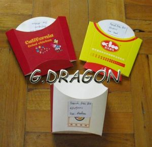 Cheep High Quality Customized French Fries Box (GD-FFB003) pictures & photos