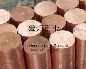 Tellurium Copper Rods (C14500, CuTeP. CW118C)