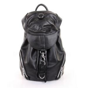 Ladies Genuine Leather Fashion School Satchel Bag Designer Travel Backpack pictures & photos