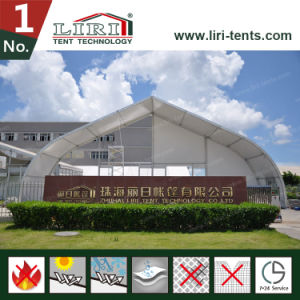 Big Tent 20X20m Luxury TFS Curve Tent for Private Helicopter Warehouse pictures & photos