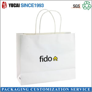 High Quality Printed Paper Shopping Bag with Twisted Handle pictures & photos