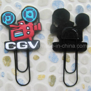 3D Soft PVC Rubber Advertising Paperclip pictures & photos
