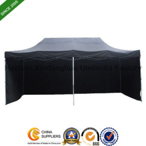 3mx6m Steel Folding Tent with Sidewalls for Promotion (FT-3060SS) pictures & photos