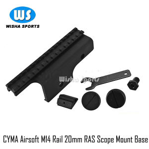 ′cyma Airsoft′ M14 Rail 20mm Ras Scope Sight Heavy Duty Mount Base C40 pictures & photos