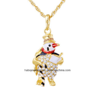 Christmas Jewelry/Christmas Necklace/Christmas Snow (XJW13336) pictures & photos