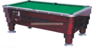 Solid Wood Pool Table with Slate Coin-Operated Pool Table (NC-PT07) pictures & photos