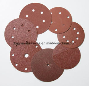 Aluminum Oxide Hook & Loop Sanding Disc pictures & photos