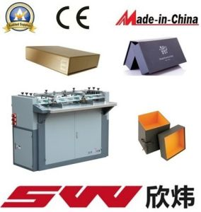 Semi Automatic Box Making Machine pictures & photos