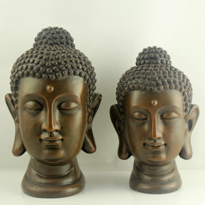 2014 Top Sale Resinic Buddha Face for Indoor and Outdoor Decor