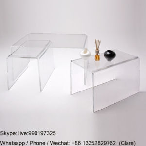 Single Clear Acrylic Lucite Coffee Table pictures & photos