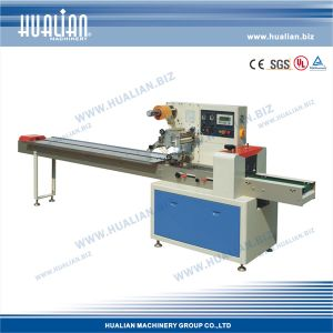 Hualian 2017 Automatic Horizontal Pillow Type Packaging Machine (DXDZ-250D) pictures & photos