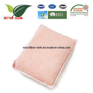 Microfiber Kitchen Cleaning Sponge Made in China