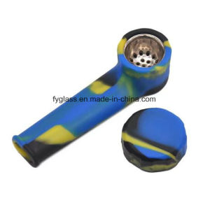 Newest Silicone Smoking Hand Pipe pictures & photos