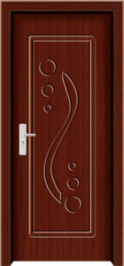 Modern PVC Wooden Door (WX-PW-120) pictures & photos